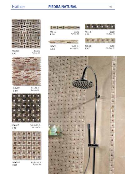 Juegos de ba o a crochet con patrones for Azulejos bano piedra natural