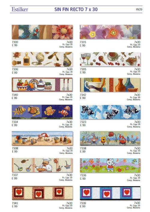 Estilker azulejos argumanez azulejos pavimentos - Cenefas modernas para cocina ...