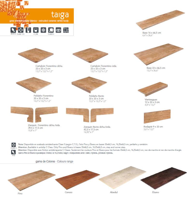 Exagres azulejos argumanez azulejos pavimentos suelos - Peldanos escalera imitacion madera ...