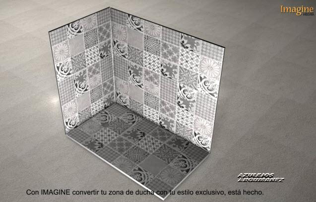 Imagine helvia azulejos argumanez azulejos pavimentos - Azulejos para ducha ...