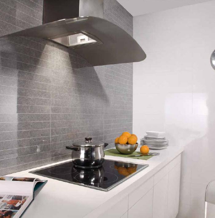 Keraben azulejos argumanez azulejos pavimentos suelos for Cocinas blancas y grises fotos