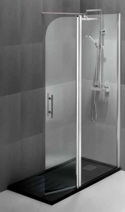 Mamparas y platos de ducha azulejos argumanez azulejos - Platos de ducha con mampara ...