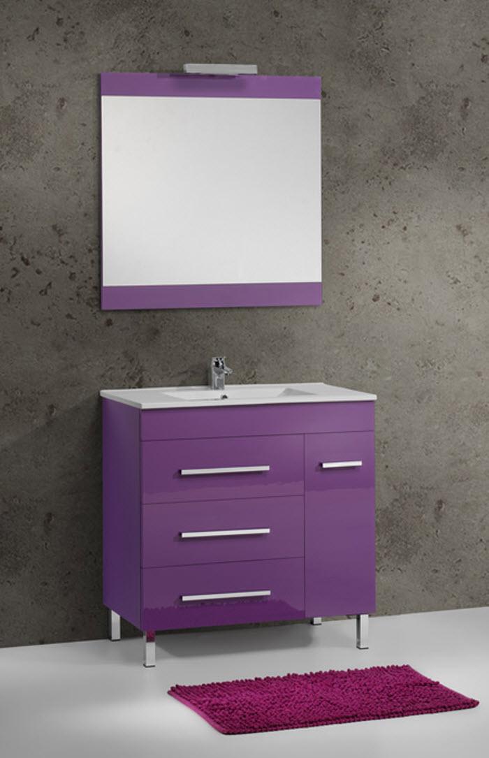 azulejos para ba o color lila ForAzulejos Bano Morado