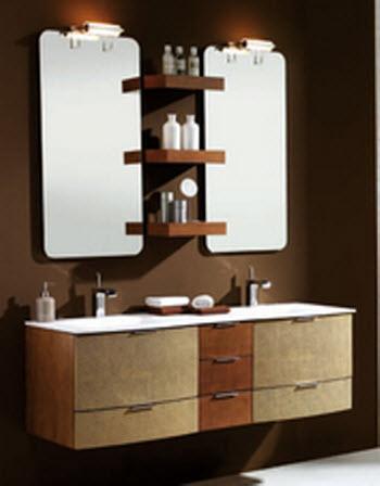 Ba os estilos dos lavabos en el ba o for Banos con dos lavabos