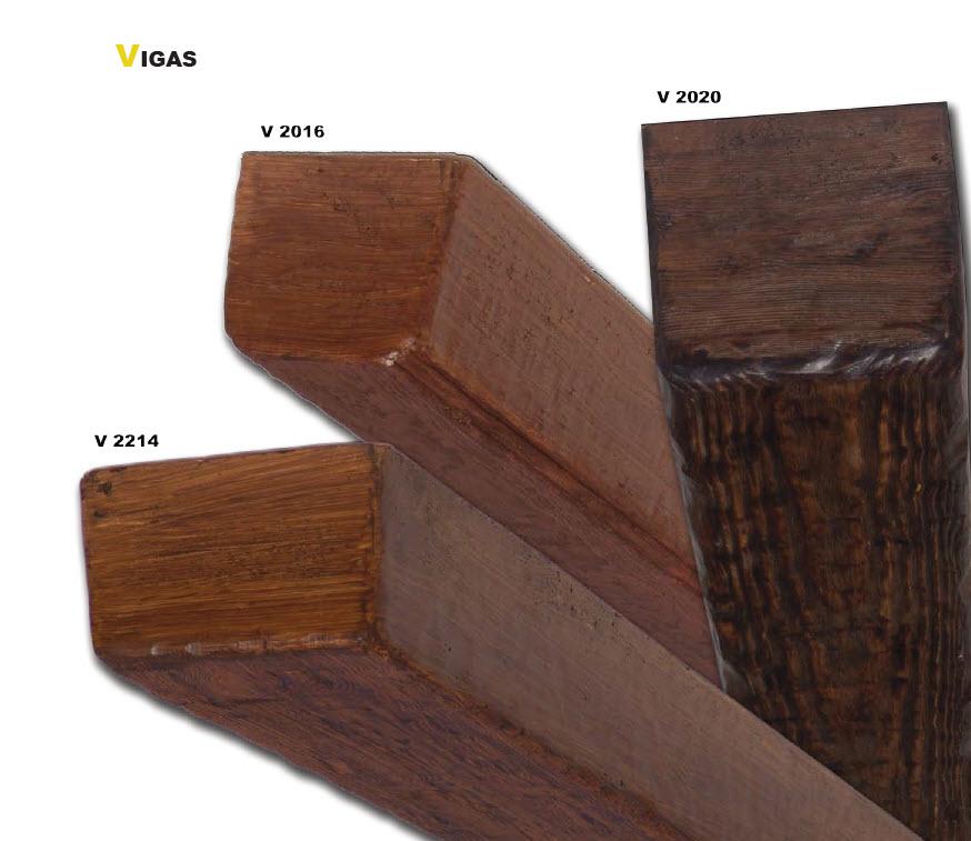 Vigas poliuretano imitaci n madera azulejos argumanez for Azulejos imitacion madera